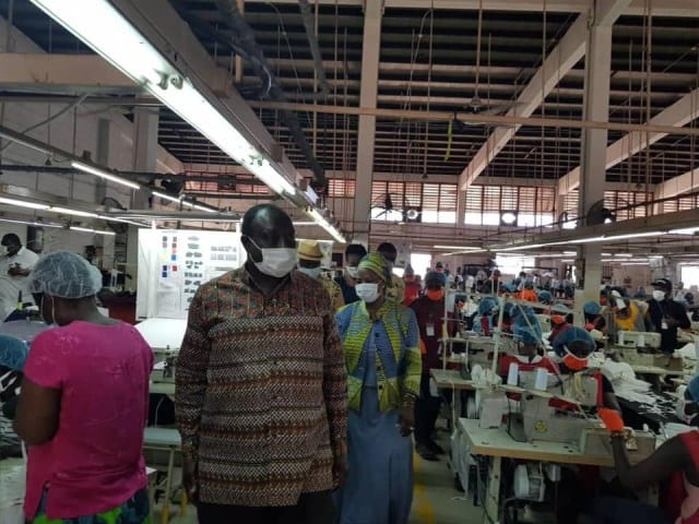 Coronavirus: Ghana starts its own production of protective equipment