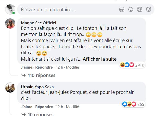 """Côte d'Ivoire: Josey surprend la toile avec """"sa moitié,"""" Serge Aurier réagit"""