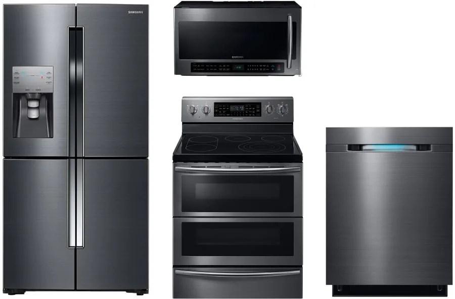 Samsung SAMBS5FD1 Samsung 4 Piece Kitchen Appliances ...