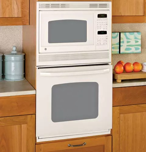 GE JKP90DP 27 Inch Combination Wall Oven With 38 Cu Ft Self Clean Oven TrueTemp Oven