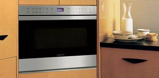 Wolf MD30TES 30 Inch Microwave Drawer With 12 Cu Ft