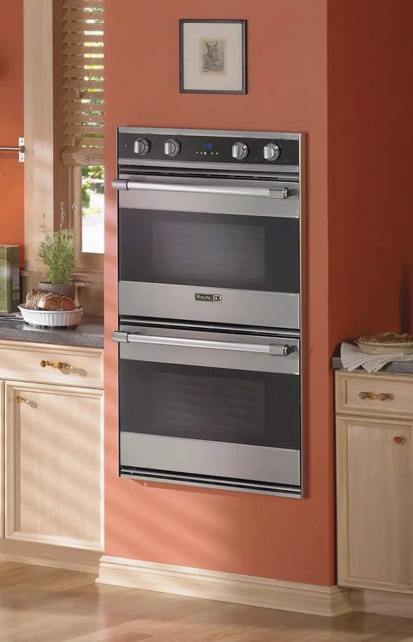 Viking Rddoe306bk 30 Inch Double Electric Wall Oven With 4
