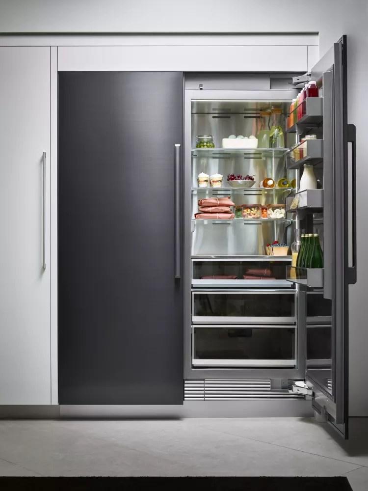 Dacor DRZ18980LAP 18 Inch Panel Ready Freezer Column With
