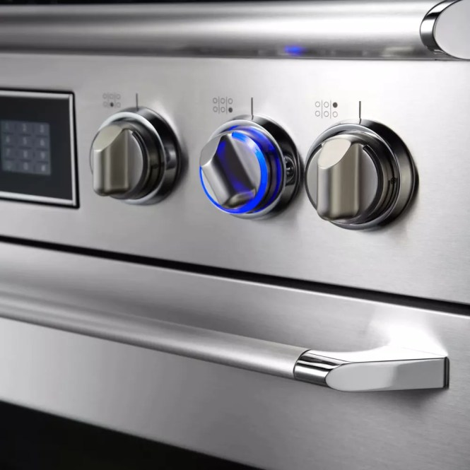 Dacor Rno130fs Renaissance 30 Single Wall Oven In Stainless Steel With Flush Handle