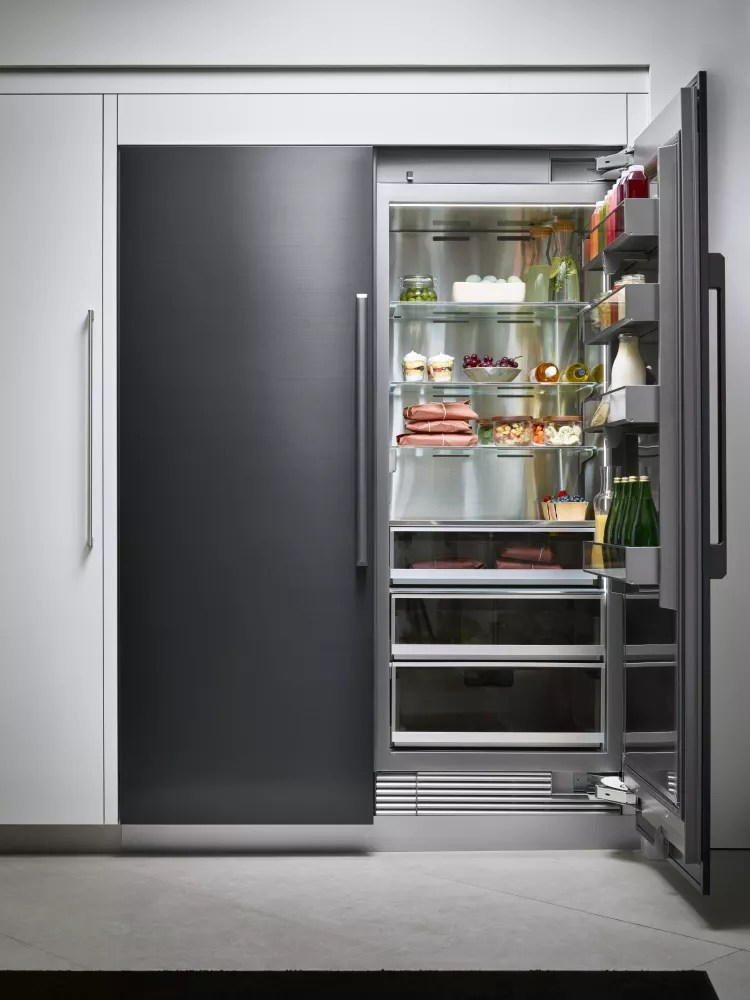 Dacor DAREFR237 Separate Install Column Refrigerator Amp Freezer Set With 24 Inch Refrigerator And