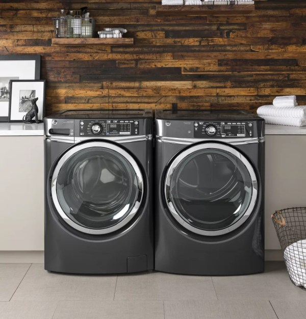 GE GFW490RPKDG 28 Inch Front Load Washer with 4.9 cu. ft ...