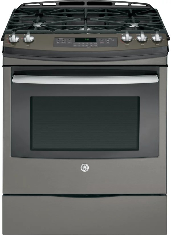 GE JGS750EEFES 30 Inch Slide-in Gas Range with Convection ...