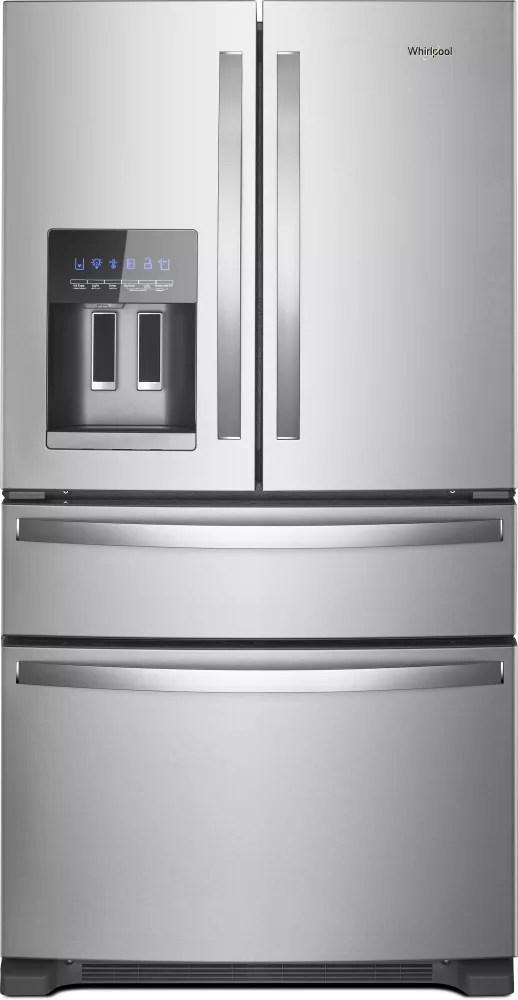 Whirlpool WRX735SDHZ 36 Inch 4-Door French Door ...