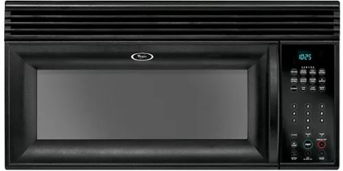 whirlpool mh2155xpb 1 5 cu ft over