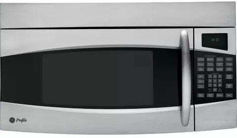 GE PVM1870SMSS 1.8 cu. ft. Over-the-Range Microwave Oven ...
