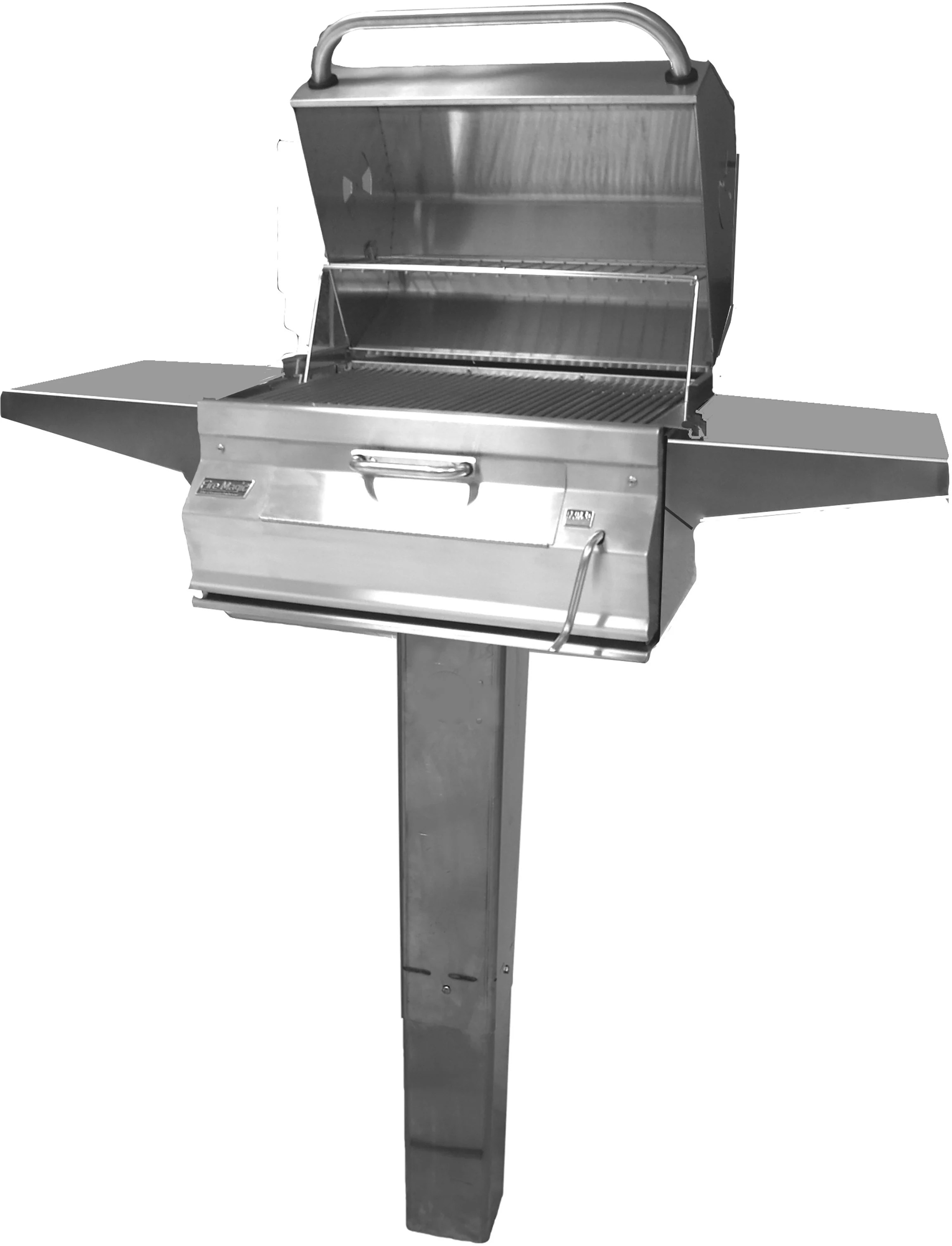 Fire Magic 22sc01cg6 56 Inch Charcoal Grill With Warming