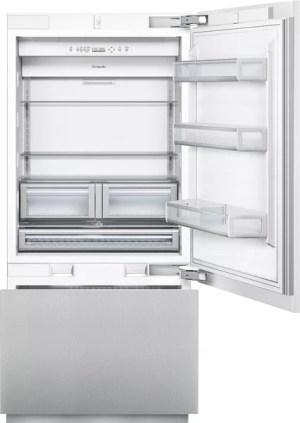 Thermador T36IB800SP 36 Inch Builtin Flush Bottom Freezer Refrigerator with 197 cu ft