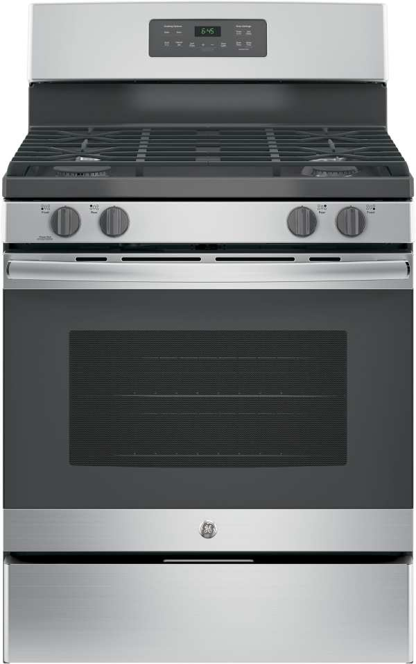 GE JGB645SEKSS 30 Inch Free-Standing Gas Range with Power ...