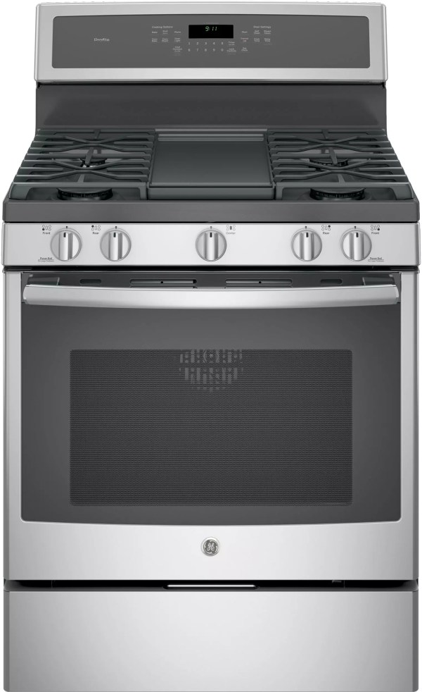 GE PGB911SEJSS 30 Inch Freestanding Gas Range with Chef ...