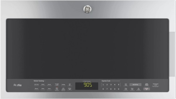 GE PVM9005SJSS 2.1 cu. ft. Over-the-Range Microwave Oven ...