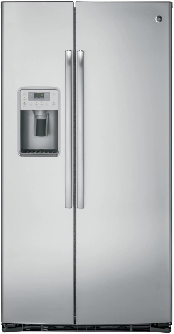 GE PZS22MSKSS 36 Inch Side-by-Side Refrigerator with Turbo ...