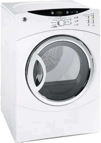 GE DCVH680EJWW 27 Inch Electric Dryer with 7.0 cu. ft ...