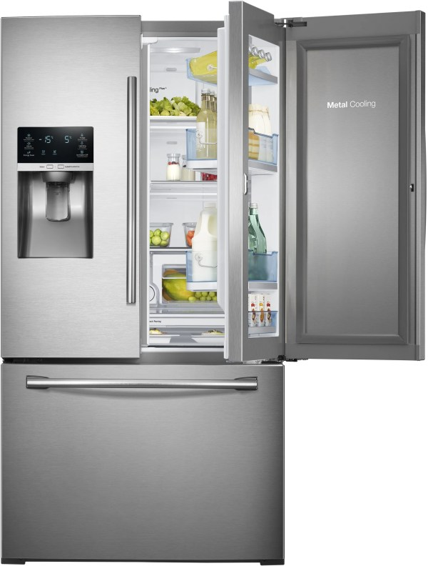 Samsung RF28HDEDTSR 27.8 cu. ft. French Door Refrigerator ...