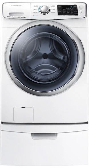 Samsung WF45H6300AW 27 Inch 45 Cu Ft Front Load Washer