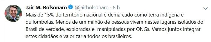 Congresso em Foco, https://congressoemfoco.uol.com.br/governo/e-raposa-cuidando-do-galinheiro-diz-cimi-sobre-demarcacao-de-terra-indigena-na-agricultura/