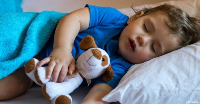 اسباب ضيق التنفس عند النوم للاطفال