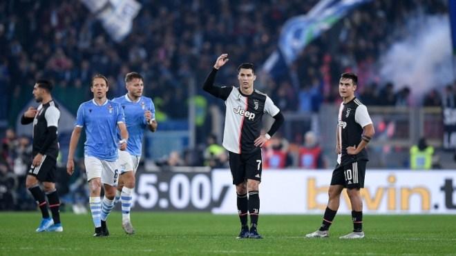 صدارة هدافي الدوري الإيطالي شعار رونالدو بـ مباراة لاتسيو ضد يوفنتوس