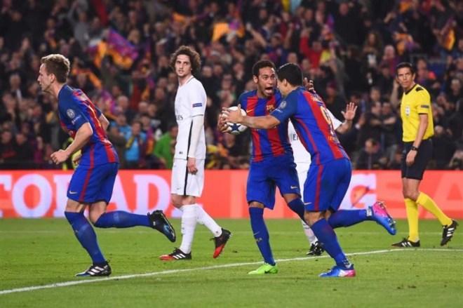 الحظ يعطي فرصة لـ باريس سان جيرمان لرد الاعتبار أمام برشلونة