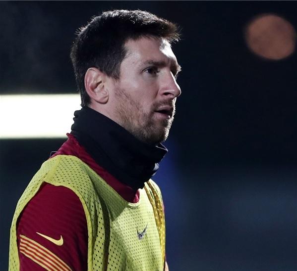 شكوك حول مشاركة ميسي في كأس السوبر الإسباني