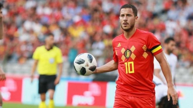 اختيار هازارد أيقونة لكرة القدم البلجيكية في 125 عامًا