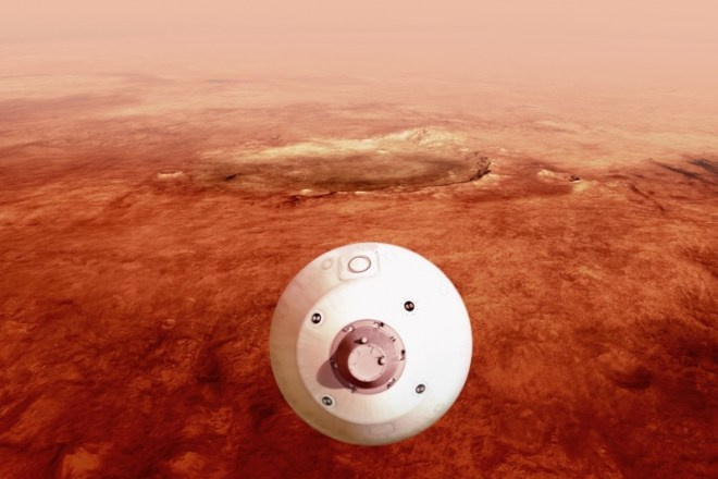 Interactive video .. feel like you are on mars in one minute