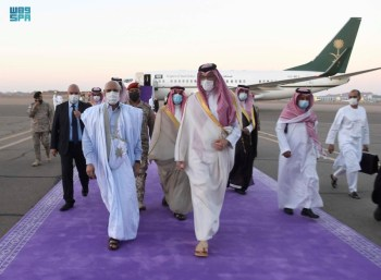 الرئيس الموريتاني يصل إلى المدينة المنورة - المواطن