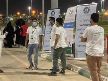 الجمعية السعودية للخدمات الإسعافية تقيم فعاليتها الأولى في حفر الباطن
