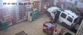 لحظة دهس امرأة لعامل حاول مساعدتها بمركز الصيانة الدورية