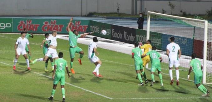 منتخب الجزائر ضد جيبوتي