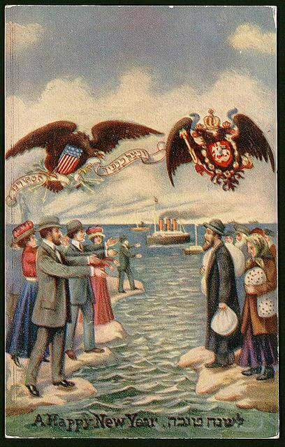 Russian New Year in Yiddish, 1900