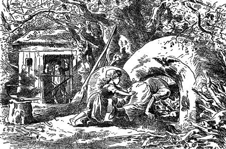 illustration for Hansel and Gretel