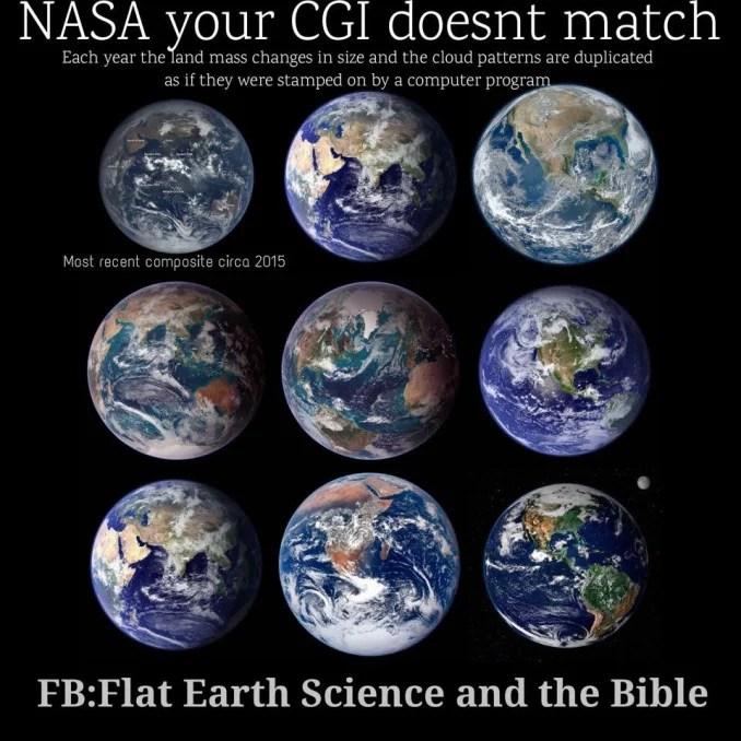 NASA's Fake Earth