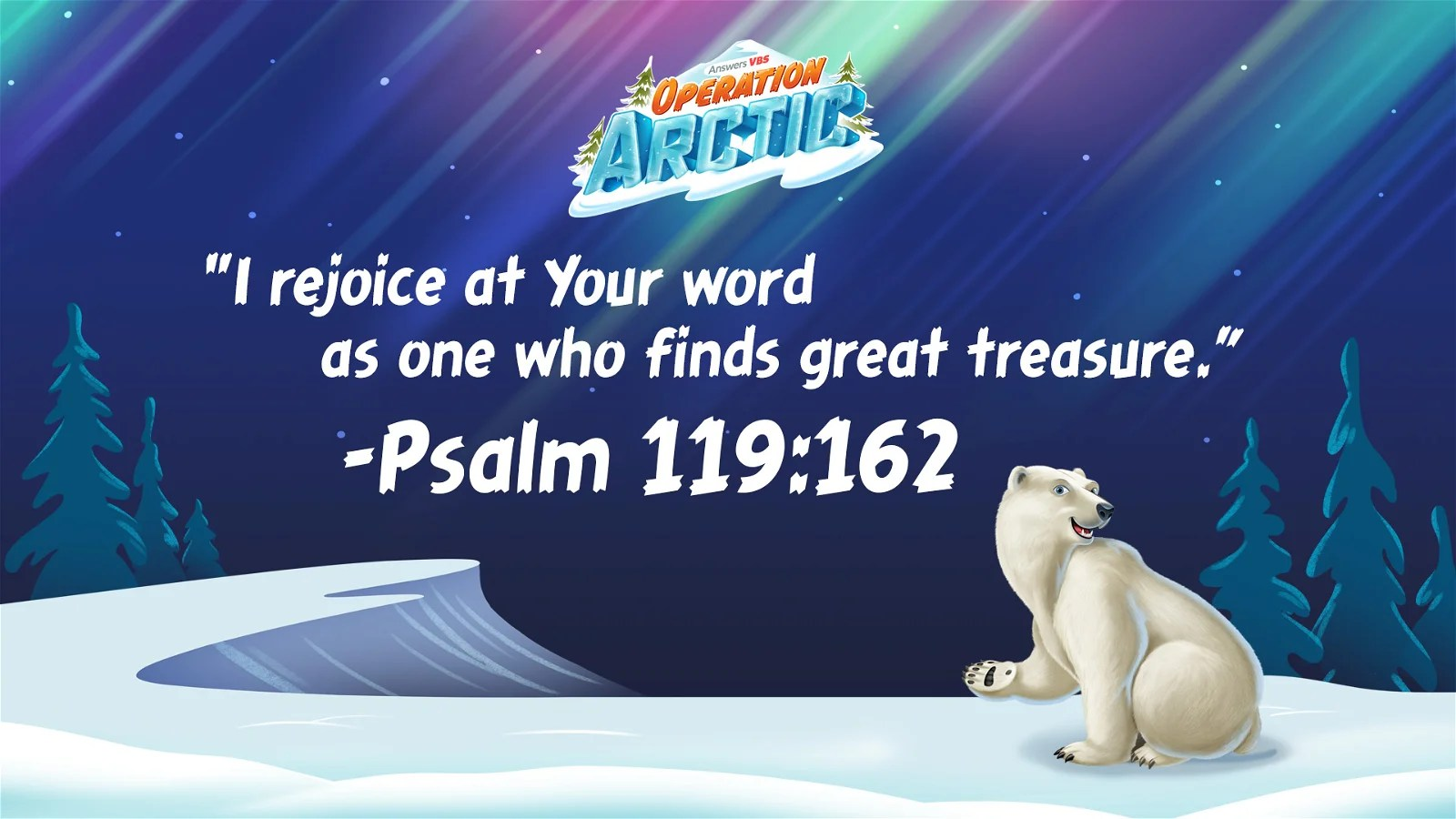Operation Arctic Resources Answers VBS 2017
