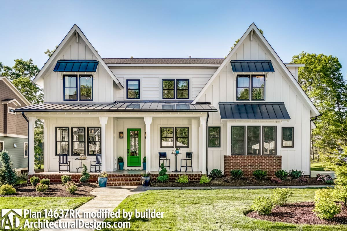 Family Friendly Shingle Style House Plan