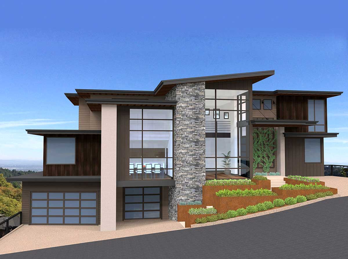 Exclusive and Unique Modern House Plan - 85152MS ... on Modern House Ideas  id=88137