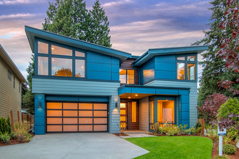 Modern House Plan with Bonus Room Included - 23667JD ... on Modern House Ideas  id=80944