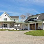 Quintessential American Farmhouse With Detached Garage And Breezeway 500018vv Architectural Designs House Plans