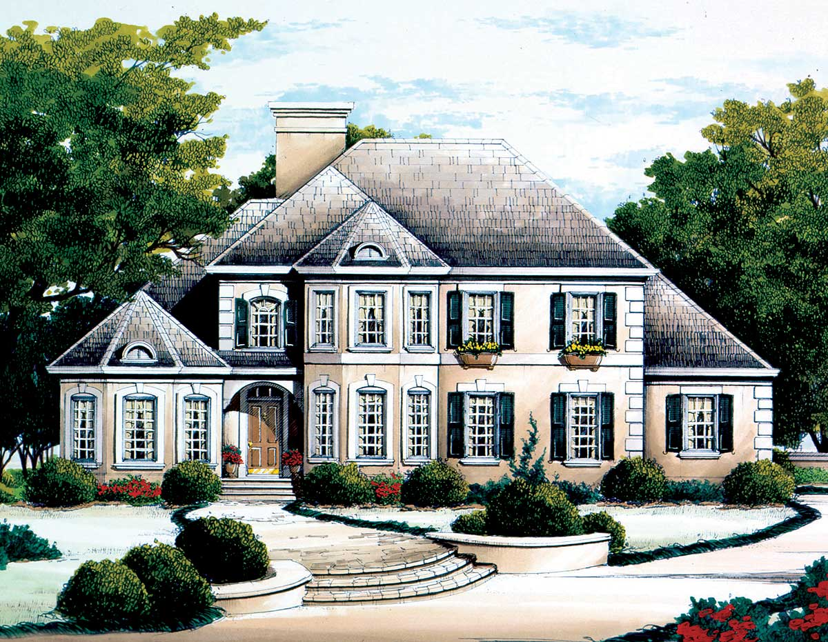 pretty french chateau house plans pictures best design - HD 1200×931