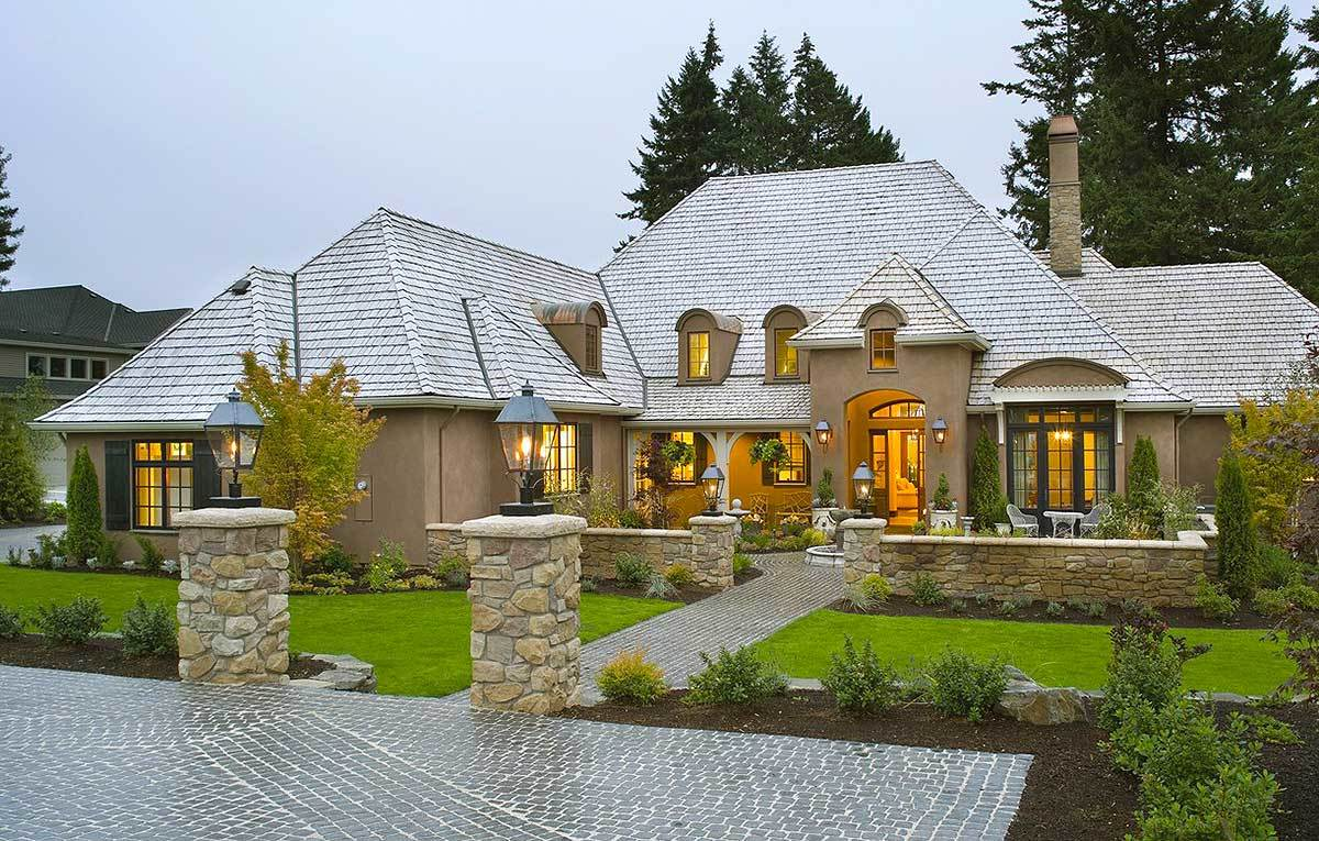 French Country House Plans - Architectural Designs
