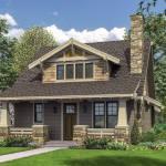 Bungalow With Open Floor Plan Loft 69541am Architectural Designs House Plans
