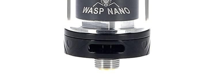 Les airflows de l'atomiseur Wasp Nano RTA par Oumier