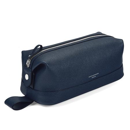 Aspinal of London Leather Wash Bag
