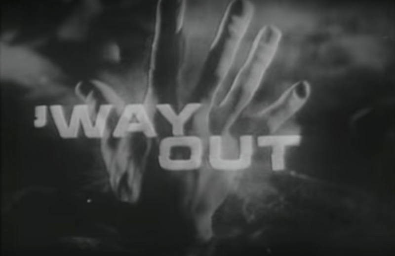 What a way out title card.