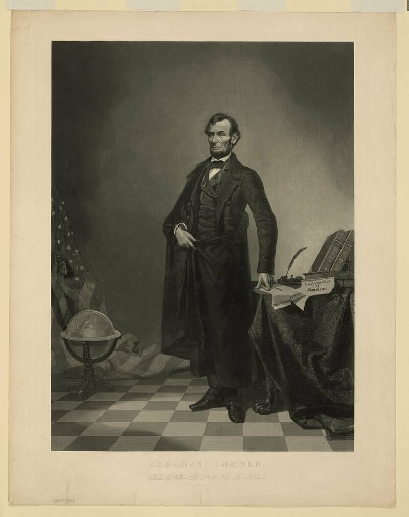 Lincoln edited print