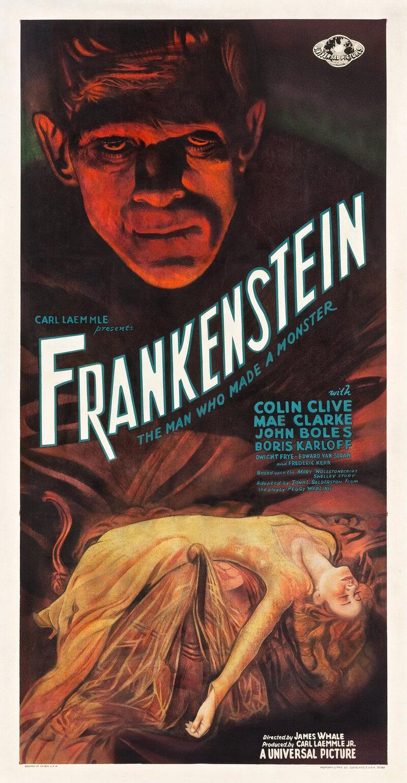<em>Frankenstein</em>, 1931.